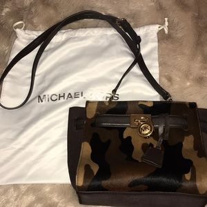 Michael Kors Limited edition Hamilton calfskin bag
